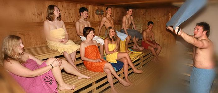 Sauna Jugend